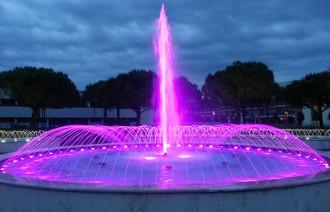 Led rgb fari a led illuminazione rgb per piscine e fontane
